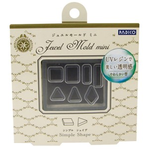 Padico Jewel Mold Mini Simple Shape